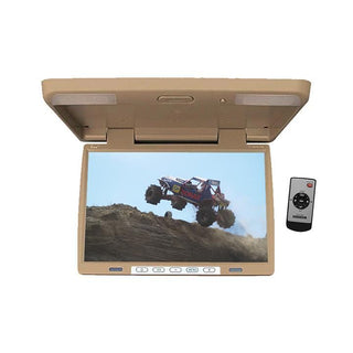 "Monitor 15.4"" Tview Overhead; Tan; Remote;  Ir Transmitter"