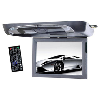 "Tview 15"" Flip Down Monitor With Dvd Player Usb-sd Ir-fm Transmitters"