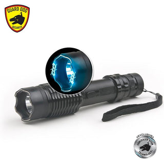 Guarddog Diablo Ii Max Volt Stungun Flashlight Stun Technology 320 Lumen Light