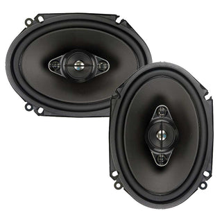 "Pioneer 6x8"" 4-way 350w Max Pair No Grills"
