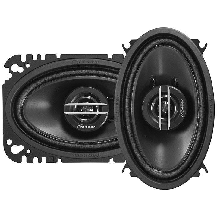 "Pioneer 4x6"" 2 Way Speakers 200 Watts - Pair - No Grills"