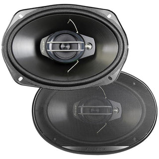 "Pioneer 6x9"" 3 Way Speakers 400 Watts - Pair"