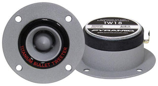 Pyramid Aluminum Cast Bullet Style Tweeter (sold In Pairs); 300 Watt