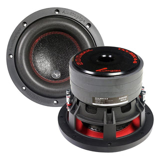 "Audiopipe 6.5"" Compsoite Cone Subwoofer Quad Stacked Magnet Woofer 250w Rms"