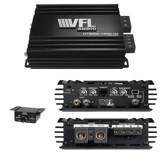 Vfl Audio Hybrid Amplifier Linkable D Class 1900w Max