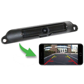 Boyo Wi-fi Wireless License Plate Camera Viewable Through An App On Smartphone