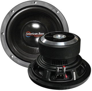 "American Bass 10"" Woofer 900w Max 4 Ohm Dvc"