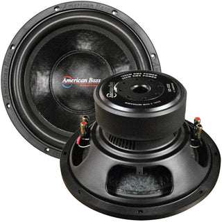 "American Bass 12"" Woofer 1000w Max 2 Ohm Dvc"