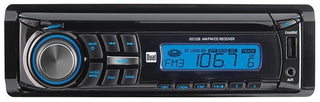 Dual Am-fm-cd Receiver Front 3.5mm Aux Input 60w