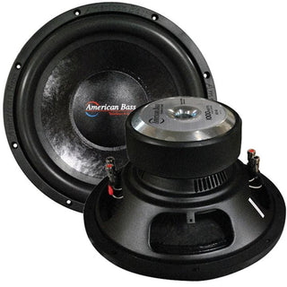 "American Bass 12"" Woofer 1000w Max 4 Ohm Dvc"