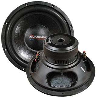"American Bass 15"" Woofer 2000w Max 4 Ohm Dvc"
