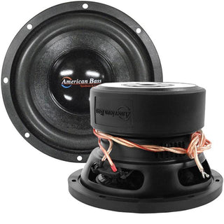"American Bass 8"" Woofer 600w Max 4 Ohm Dvc"