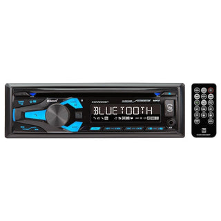 Dual Single Din Am-fm Cd Player Bt Usb Aux 50wx4f-r Outputs