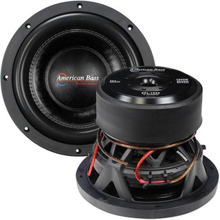 "American Bass 10"" Woofer 2000w Max 2 Ohm Dvc"