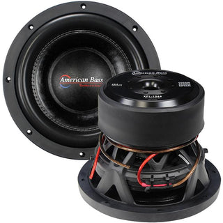 "American Bass 10"" Woofer 2000w Max 4 Ohm Dvc"