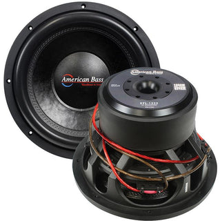 "American Bass 12"" Woofer 2000w Max 2 Ohm Dvc"