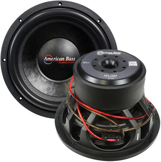 "American Bass 12"" Wooofer 2000w Max 4 Ohm Dvc"