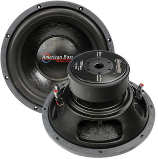 "American Bass 10"" Wooofer 600w Max 4 Ohm Dvc"