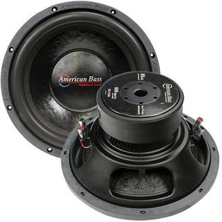 "American Bass 12"" Wooofer 600w Max 4 Ohm Dvc"