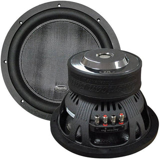 "American Bass 12"" Woofer 2400w Max 200oz Magnet Dual 2 Ohm"