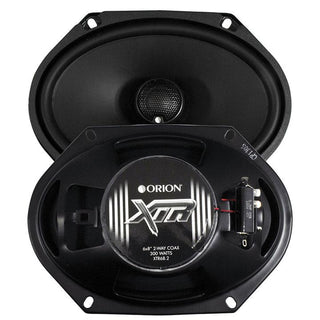 "Orion Xtr 6x8"" 2-way Coaxial Speaker-no Grills 400 Watts Max"