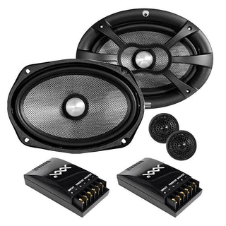"Re Audio Xxx Series 6""x9"" Component Set 480w"