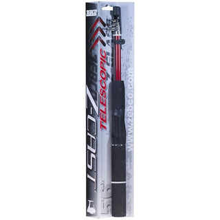 "Zebco Zcast Telescopic 5'6"" Sp Rod"