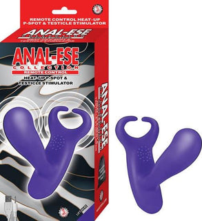 Anal-ese Collection Remote Control Heat Up P Spot & Ball Stimulator