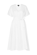 THE LOLA DRESS WHITE
