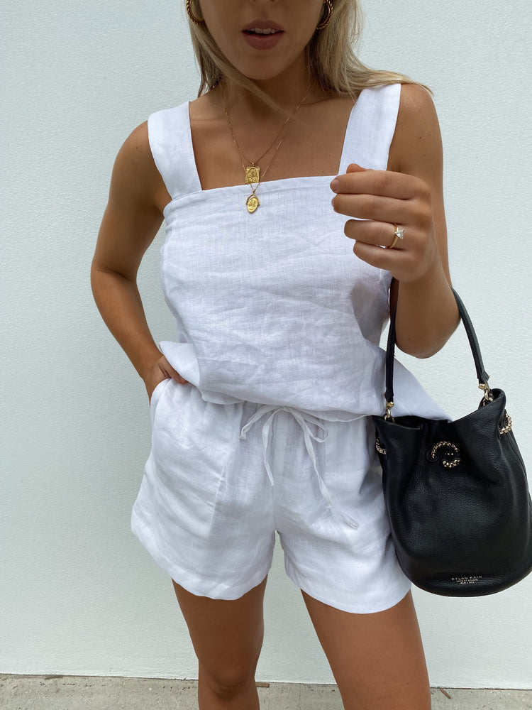 CAMI TOP WHITE