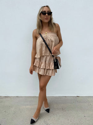 BABY DOLL FRILL TOP BLUSH