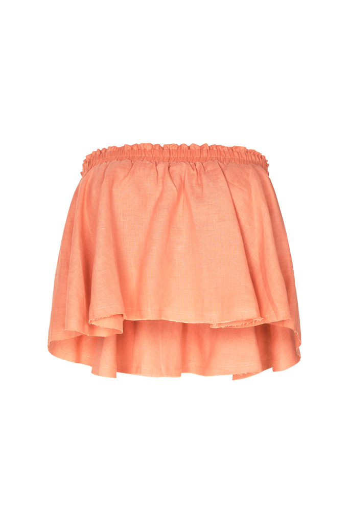 BABY DOLL FRILL TOP ROSETTE