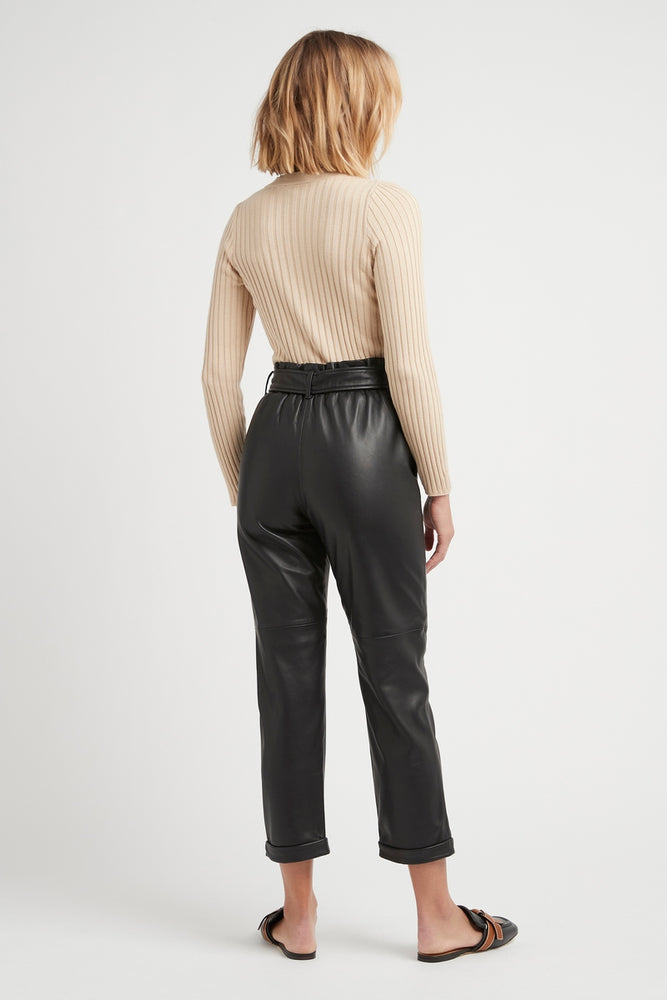 THE KENNY LEATHER PANTS