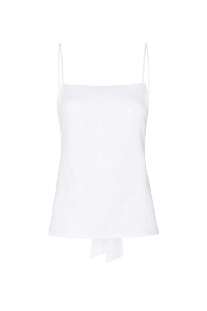 THE DOUBLE TIE TOP WHITE