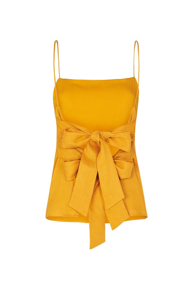 THE DOUBLE TIE TOP TURMERIC