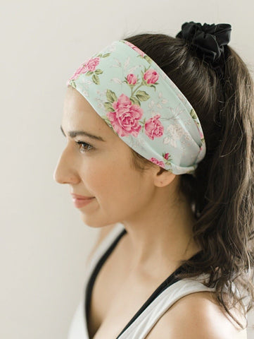 Syros Running Jersey Knit Headbands - Athena Fitness Collections