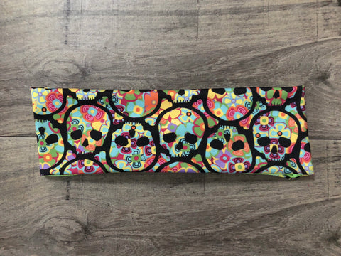 Sugar Skull Fitness Headband - Athena Fitness Collections
