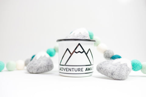 Adventure Awaits Camping Mug