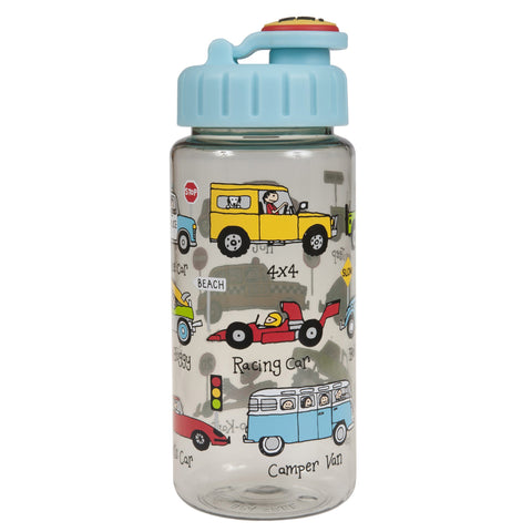 Tritan Drinking Bottle wiht removable Pop Up Straw Cars
