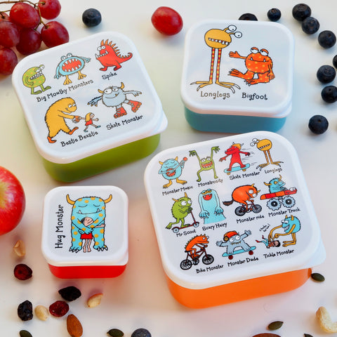 Cajas para Snack Tyrrel Katz Cube Boxes Monsters