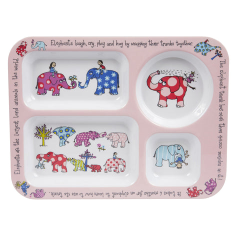 Compartment Tray Elephants