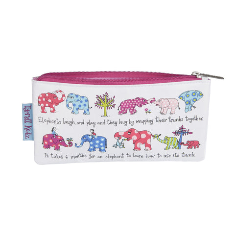 Pencil Case Elephants