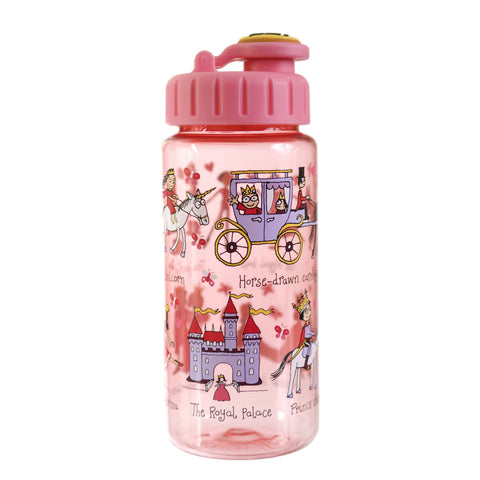 Tritan Drinking Bottle wiht removable Pop Up Straw Princess