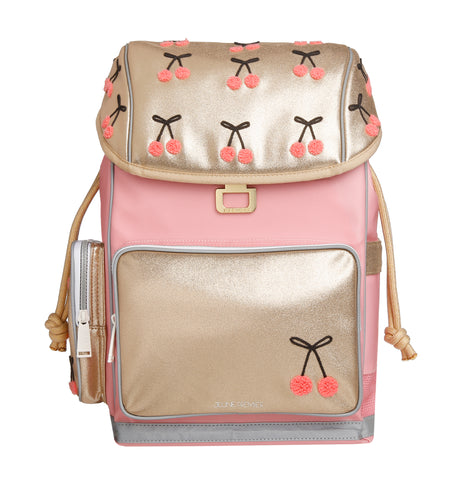 Backpack-  ErgoMax Cherry Pompon