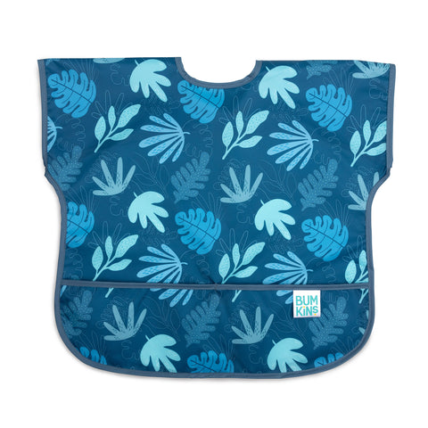 Babero Junior Manga Corta Impermeable Blue Tropic