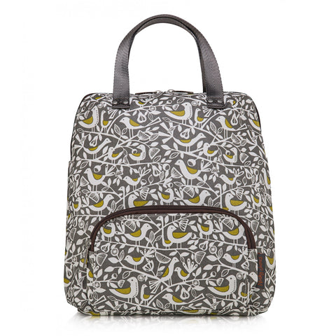 Backpack Grey Doves