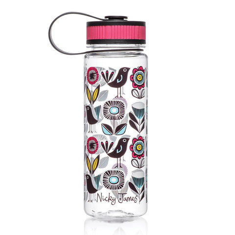 Drinking Bottle Fifties Floral