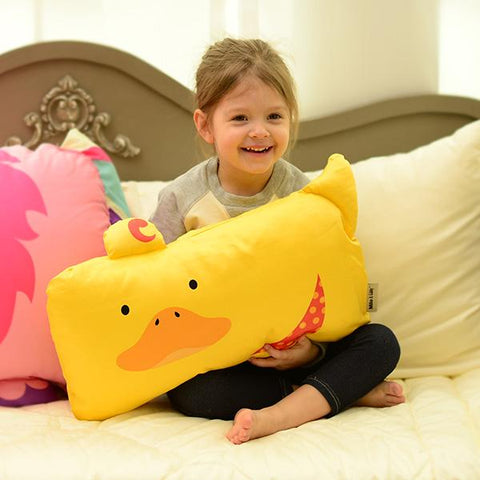 "Funda de Almohada Toddler Pato ""Duke"""