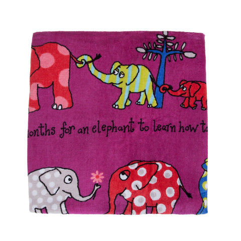 Towel Elephants