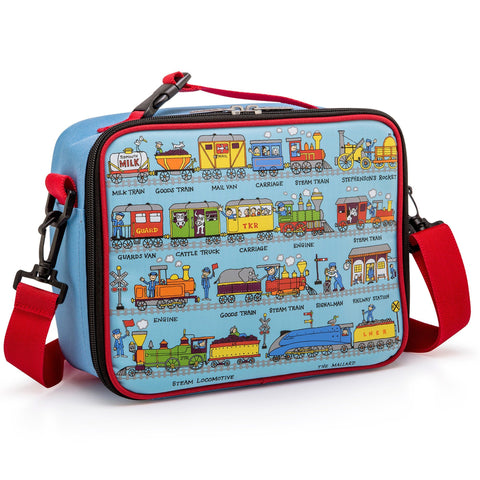Lunch Bag Trains